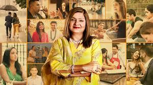 "Netflix hit series ""Indian Matchmaking"", starring Sima Taparia (photo: Netflix)"