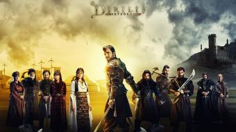 "A promotional image for the Turkish TV show ""Dirilis: Ertugrul"" (photo: Tekden Film)"