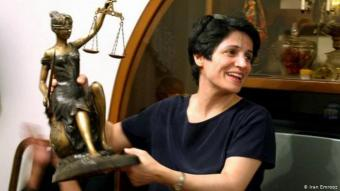 Iranian human rights activist Nasrin Sotoudeh (photo: Iran Emrooz)