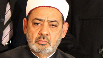 Sheikh Mohammed al-Tayyeb of Al-Azhar (photo: AFP)