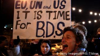 """The portrayal of the BDS campaign as anti-Semitic is a gross distortion of what is fundamentally a legitimate non-violent means of struggle for Palestinian rights"" (photo: GALI TIBBON/AFP/Getty Images)"
