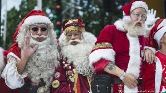 Santa Claus congress in Germany (photo: picture-alliance/dpa/Scanpix)