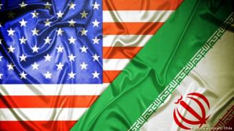 U.S: and Iranian flags (photo: picture-alliance/C. Ohde)