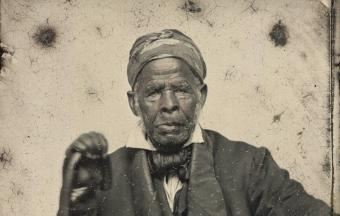 Omar ibn Said, born in Senegal in 1770, held onto Islamic practices while enslaved for decades in the United States (source: Beinecke Rare Book and Manuscript Library, Yale University)