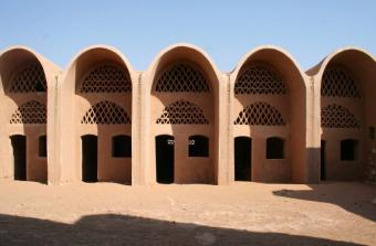 New Gourna, Egypt, designed by Hassan Fathy (source: Mille)