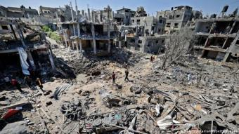 Destroyed buildings in Beit Hanun, northern Gaza (photo: AFP/Getty Images)