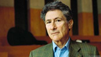 Palestinian American cultural critic Edward Said; photo from 1999 (photo: piciture-alliance/akg)