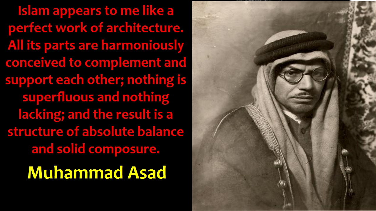 Image result for MUHAMMAD ASAD HIS STAND ON ISLAMIC STATE