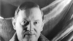 Photo of the author Evelyn Waugh, 1940 (source: Carl Van Vechten Photographs Collection, Library of Congress, USA)