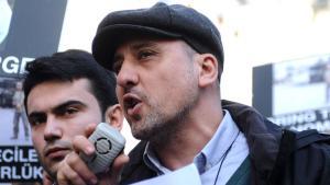 The turkish journalist Ahmet Şık; photo: Getty Images/AFP/O. Kose