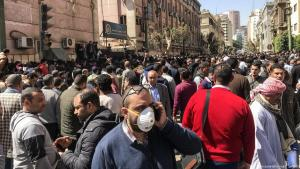 Effects of the coronavirus in Cairo, Egypt (photo: picture-alliance)