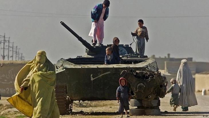 Afghanistan: A slide into war and chaos -...